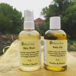 Baby Oil and Baby Wash